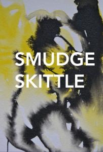 Smudge Skittle Logo - yellow blot