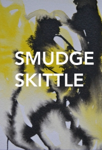 Smudge Skittle Logo - yellow blot